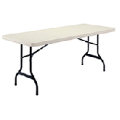 White Folding Tables (6ft)