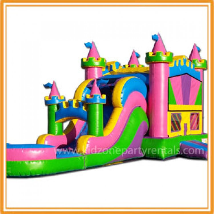 Colorful Castle Combo w/pool