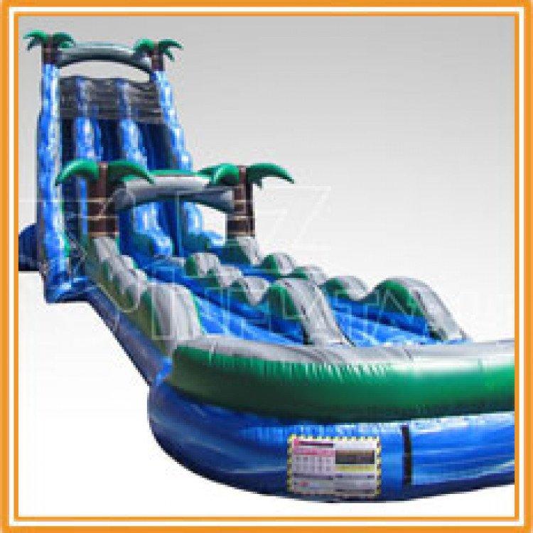 27ft blue crush slip slide main 1615529297 big 27' Blue Crush w/Slip n Slide