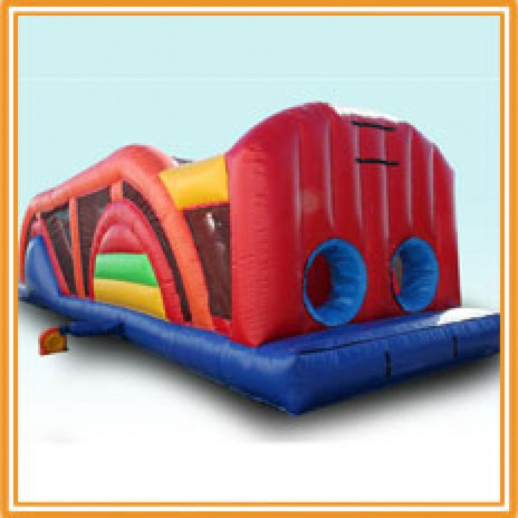 45ft obstacle course 1615576087 big 45' Double Lane Course