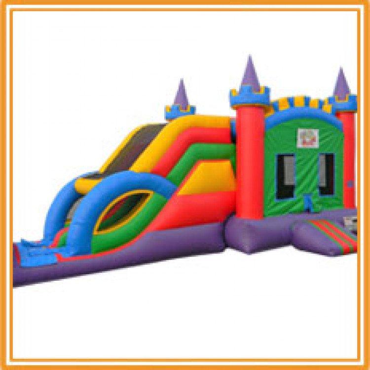 bounce combo 1615528718 big Colorful Castle Combo/Slide