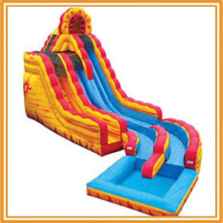 fire ice 2 1615529200 big 20' Fire N Ice Wet Slide