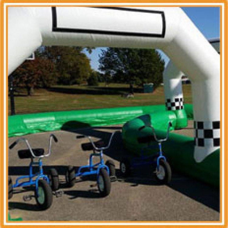 giant trike main 1615530142 big Giant Tricycle w/ Race Track