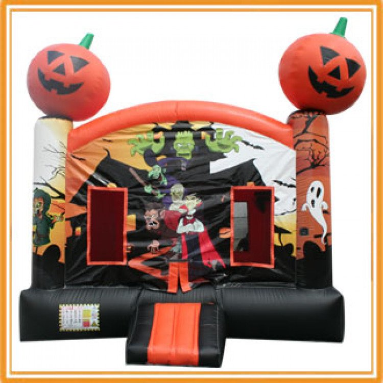 halloween bouncer 1615528406 big Halloween Bounce House