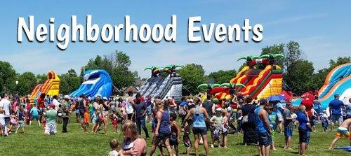 neighborhood events Indianapolis Corporate Event Rentals