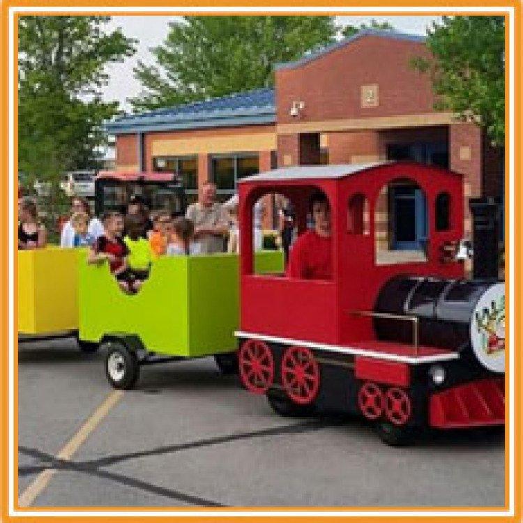 KidZone Trackless Train